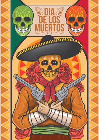 dia de los muertos design