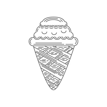 ice cream cone Çizim