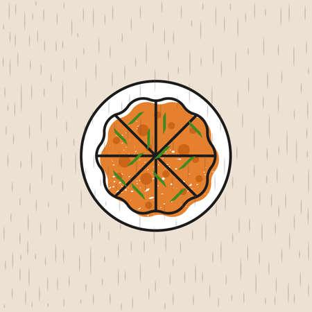 Icona alimentare coreana Archivio Fotografico - 79162555