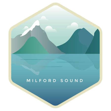 mitre: milford sound