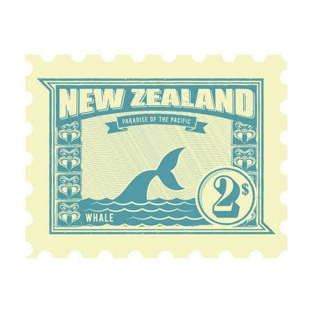 new zealand postage stamp design