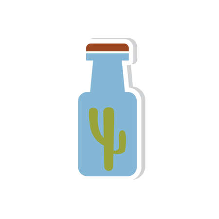 bottle of prickly pear cactus juice