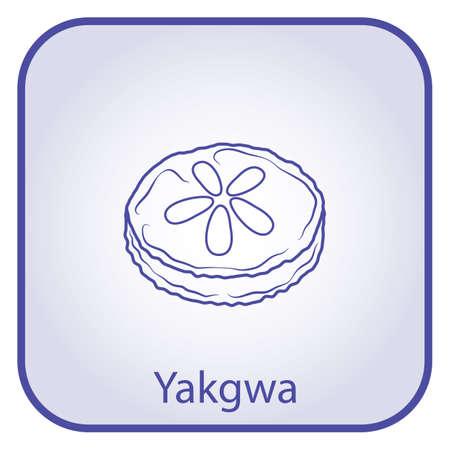 yakgwa  illustration
