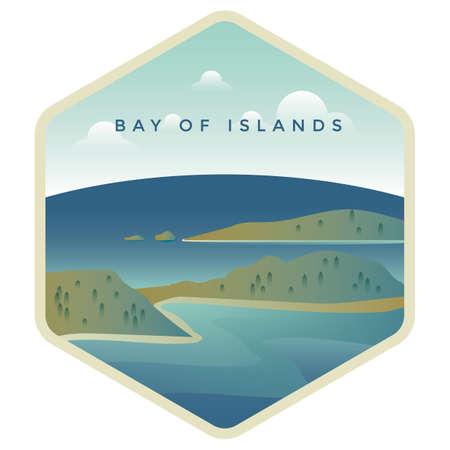 Baia delle isole Archivio Fotografico - 79189036