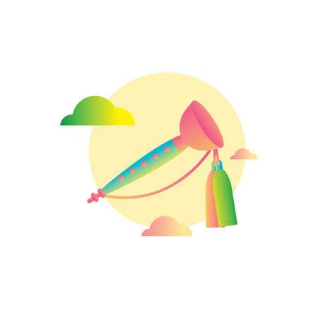 woodwind: taepyeongso  illustration