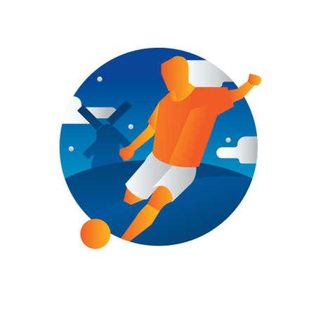 football player Çizim