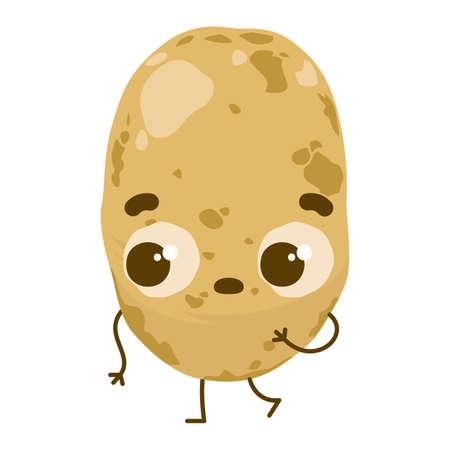 감자 일러스트