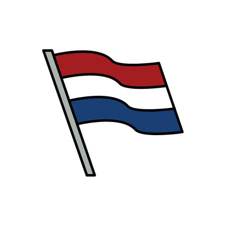 オランダの国旗 写真素材 - 79215838