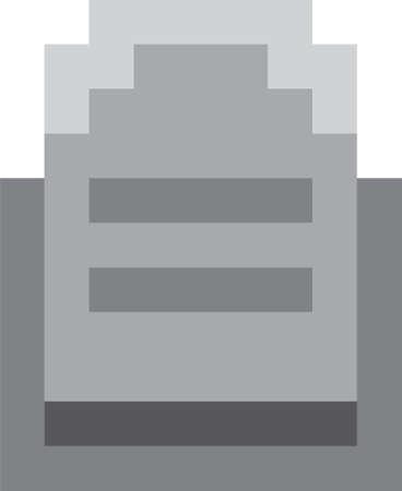 pixel art tombstone