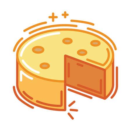 チーズのホイール