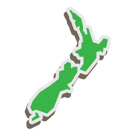 뉴질랜드지도