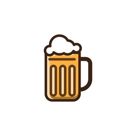 a glass of beer Imagens - 79215955