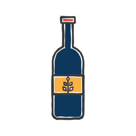 dutch gin Ilustração