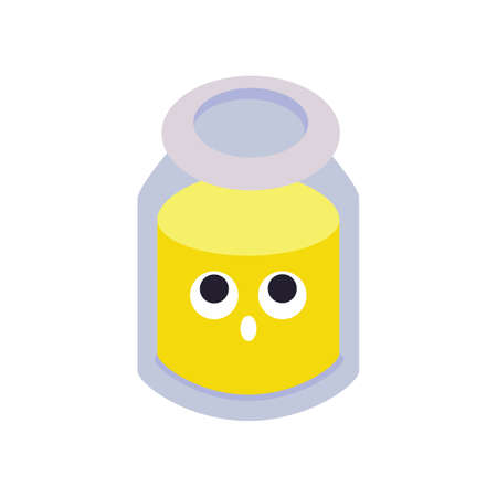 honey jar Иллюстрация