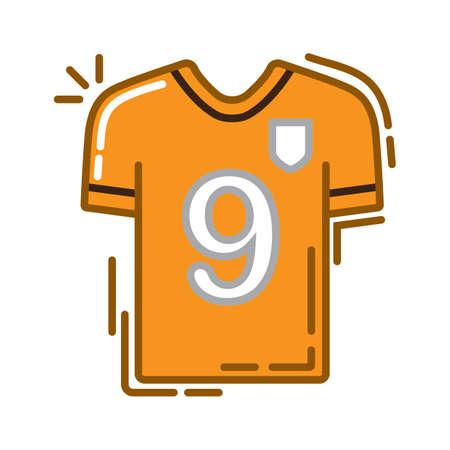 football jersey Illustration