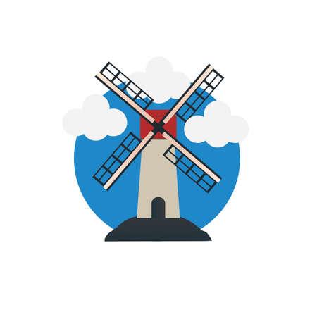 windmill Фото со стока - 79216026