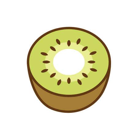 kiwi fruit Ilustração
