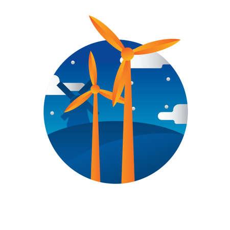 windmill Stock fotó - 79216084