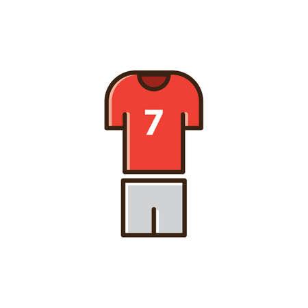 voetbal trui en broek