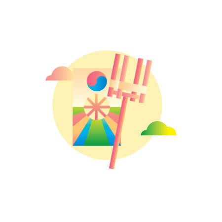 韓国の凧リール