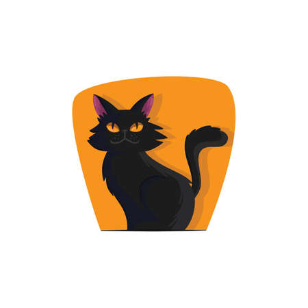 black cat Illustration