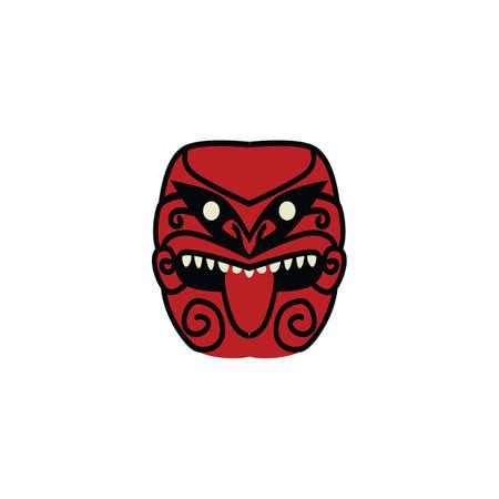 tiki mask Illustration