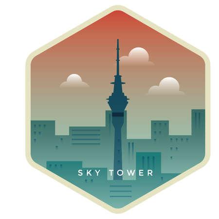 rascacielos Ilustración de vector