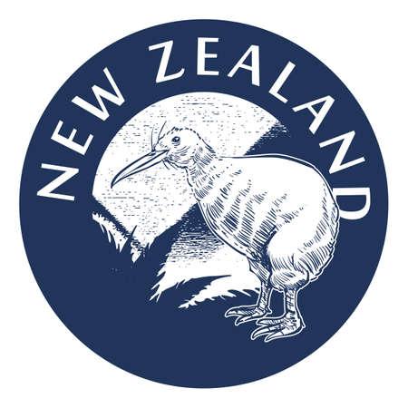 ニュージーランドのラベル デザイン