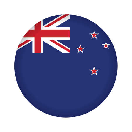 new zealand flag design Stok Fotoğraf - 79216334