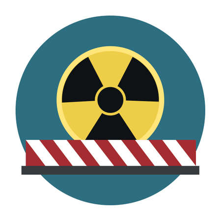 radioactive symbol 向量圖像
