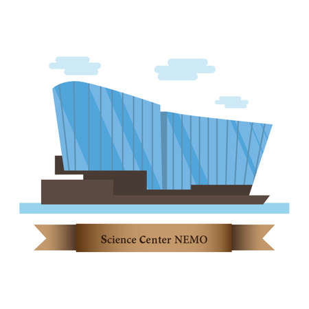 science center nemo Illusztráció