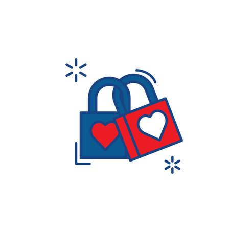 Daegu love lock Archivio Fotografico - 79216250