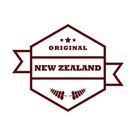 silver fern: new zealand product label design