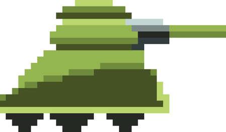 pixel art tank