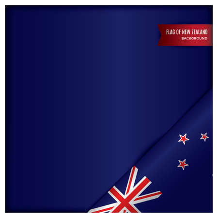 new zealand flag design Stok Fotoğraf - 79216523