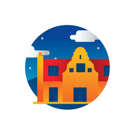 オランダの建物 写真素材 - 79216624