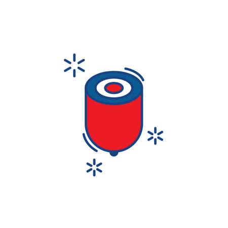 Korean spinning top icon