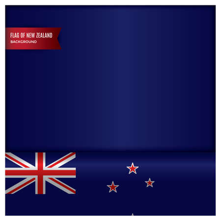 new zealand flag design Stok Fotoğraf - 79216292