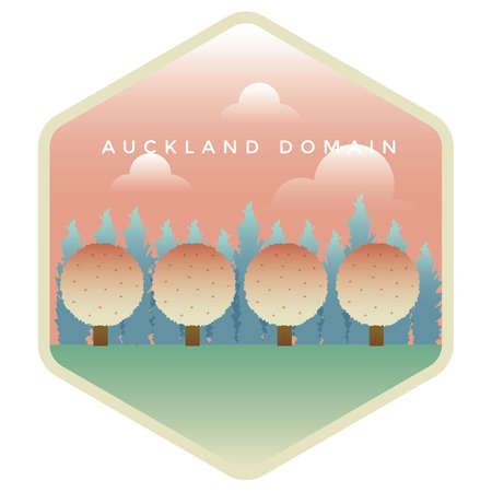 Domaine auckland Banque d'images - 79216787