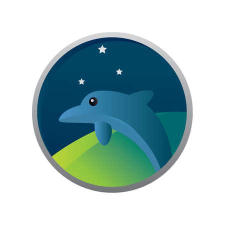dolphin Illustration