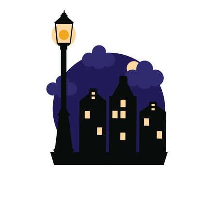 lamp post Illusztráció