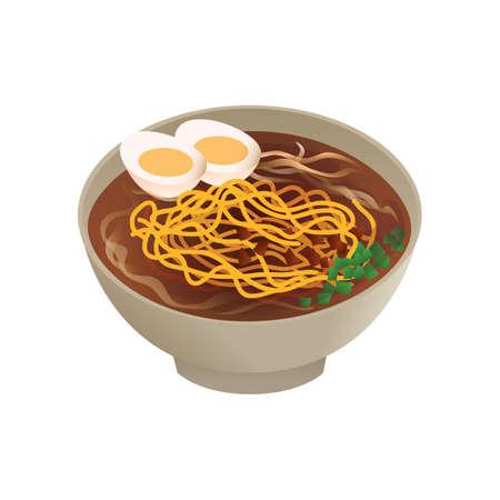 Korean food ramyeon.
