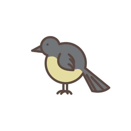 Hihi bird Foto de archivo - 79142948