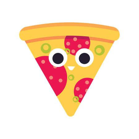 pizza slice Illustration