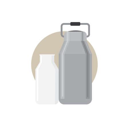 milk can Illustration