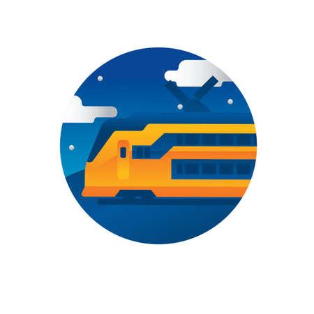 train Illusztráció