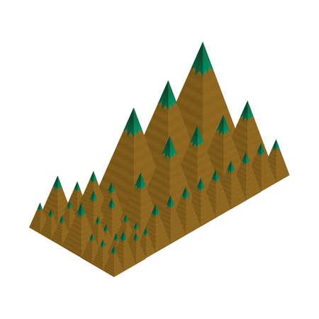 Peak mountains