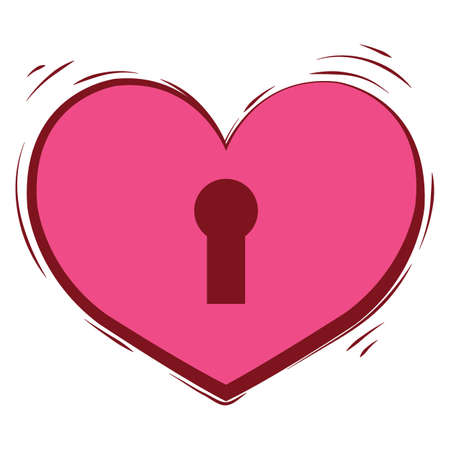 heart and keylock