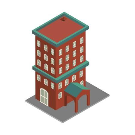 等尺性の建物