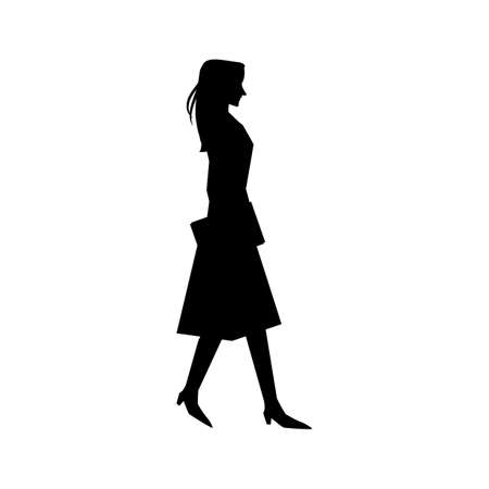 woman silhouette design